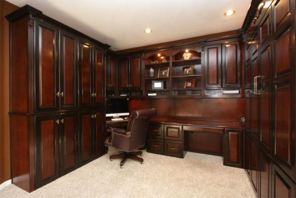 home office furniture cherry wood