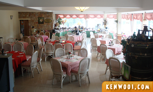 cameron highlands hotel restaurant