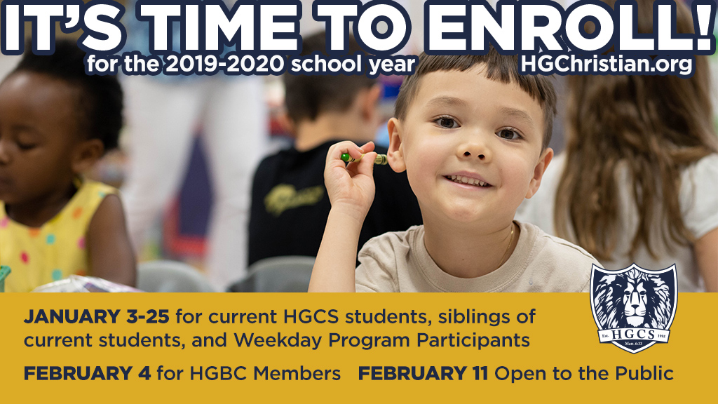 HGCS High School Announcements : Week of February 4, 2019