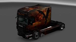 Scania RJL Flying Dragon Skin