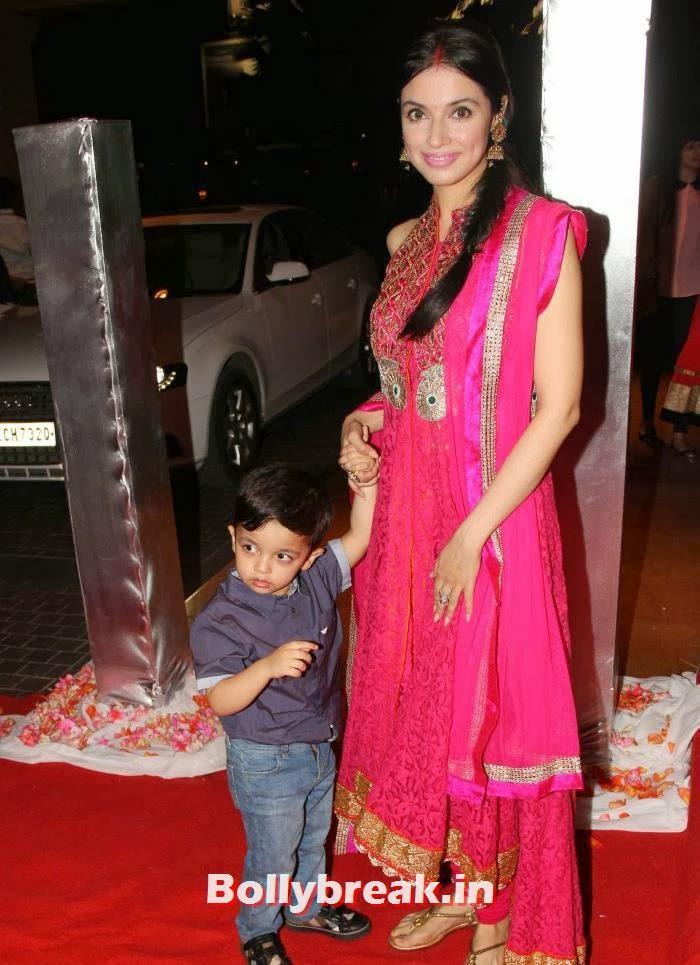 Divya Khosla Kumar, Siddharth Kannan & Neha Agarwal Wedding Reception Pics