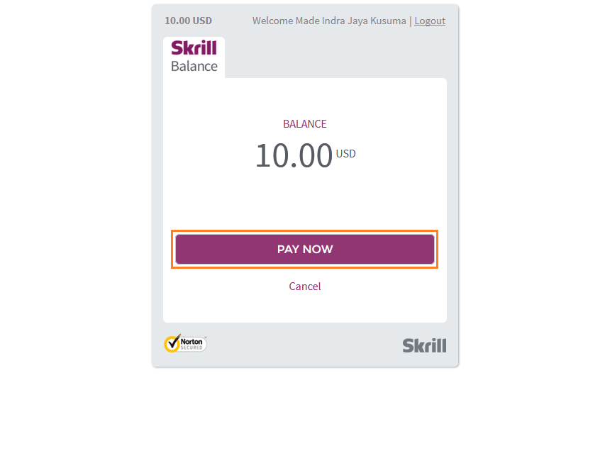 Cara Deposit IQ Option dengan skrill
