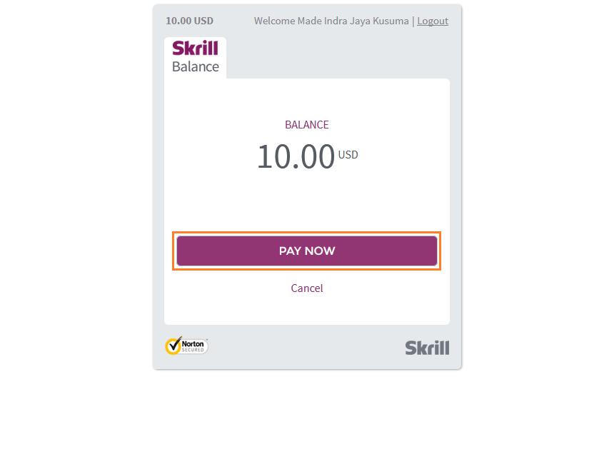 Cara Deposit IQ Option dengan skrill