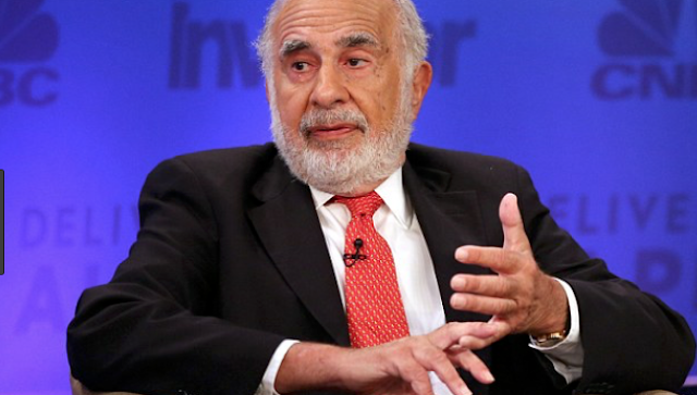 Carl Icahn unloaded millions in steel-related stock days before Trump tariff