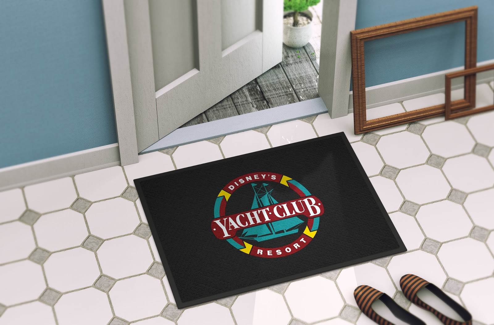 Disney Avenue Disney Inspired Resort Mats For Your Home