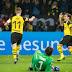 Líder Dortmund vence o 2º colocado Gladbach no duelo dos Borussias e abre vantagem