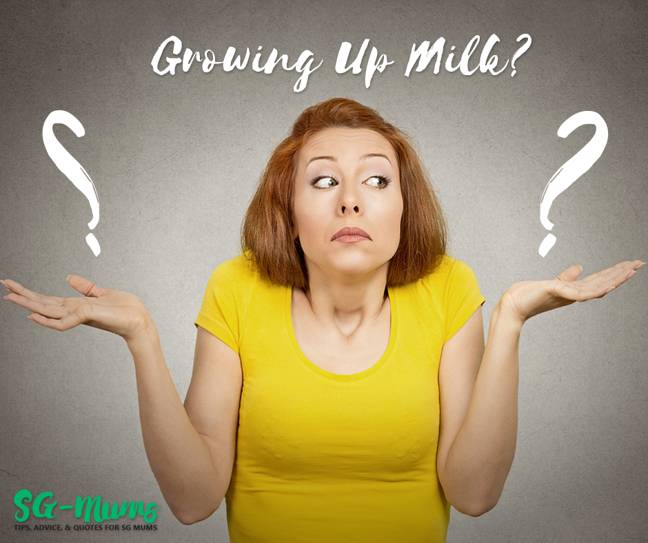 Should I Give My Baby Growing Up Milk?
