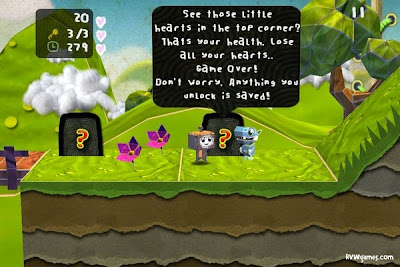 pmGuide1 Robot vs. Wizards' Paper Monsters para iPhone lembra Little Big Planet