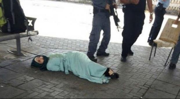 Beri Perlawanan, Seorang Gadis Palestina Ditembak Tentara Israel