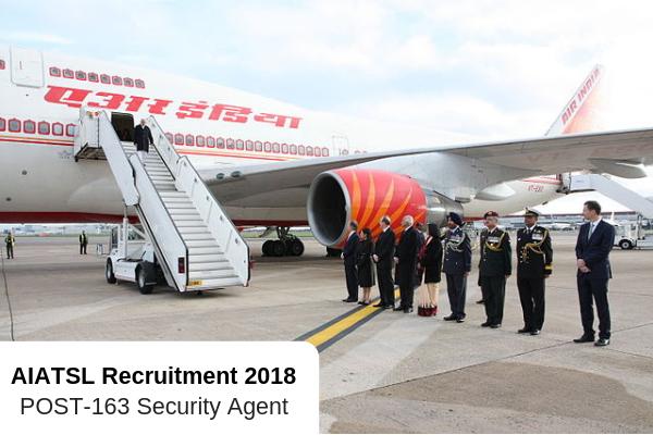 AIATSL Recruitment 2018