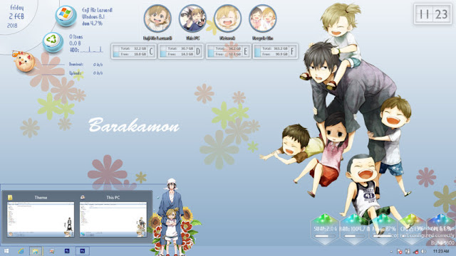 Windows 8/8.1 Theme Barakamon by Enji Riz