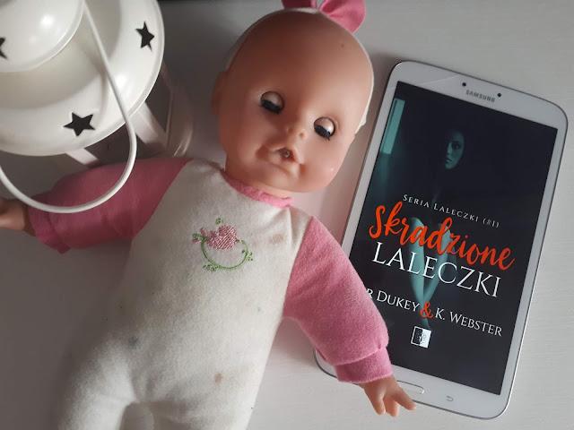 Skradzione Laleczki, booklover, recenzja, Samanta Louis
