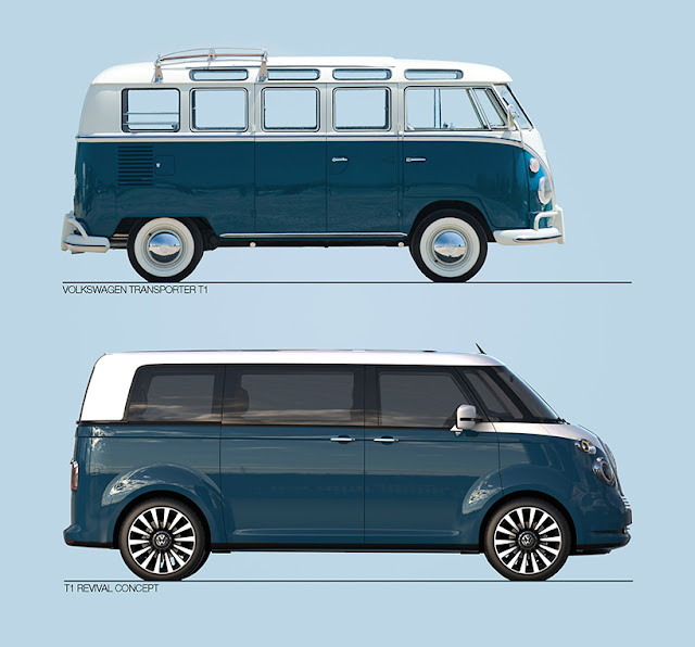 VW bus revival concept