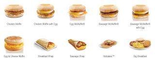 harga menu di mcd
