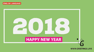 Hd Quality smart green greetings for new Year celebration