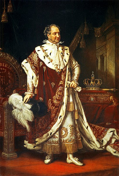 Maximilian I Joseph of Bavaria by Joseph Karl Stieler, 1820
