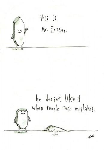mr. eraser