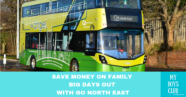 Save Money on Family Days Out with Go North East