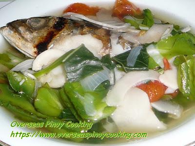 Dinengdeng, Labong, Saluyot at Sigarillas Recipe