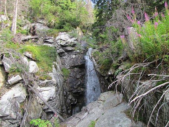 Wodospad Olbrzymi (słow. Obrovský vodopád)