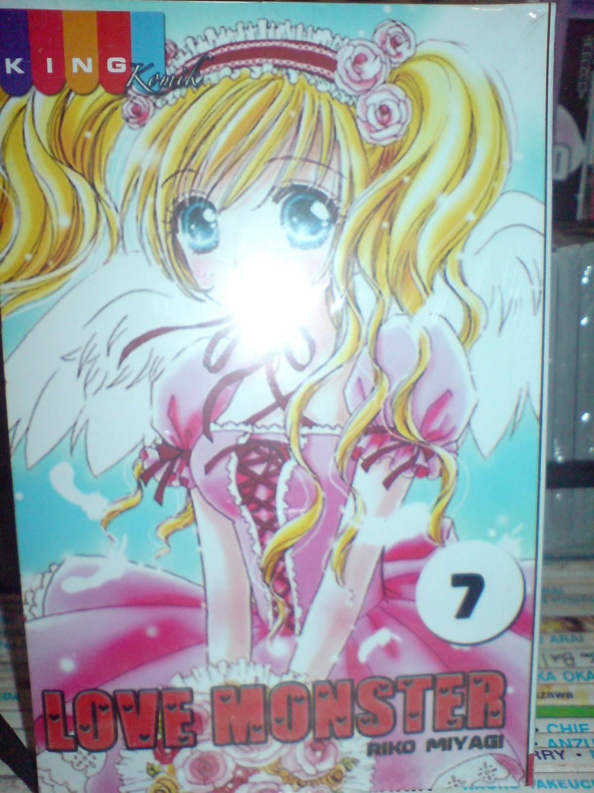 Komik Jepang Baru Murah Love Monster 1 12