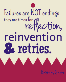 failure quote, reinvention quote, retry