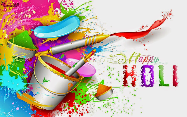 happy holi whats app dp