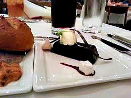 Chocolate Pudding Cake- California Grill