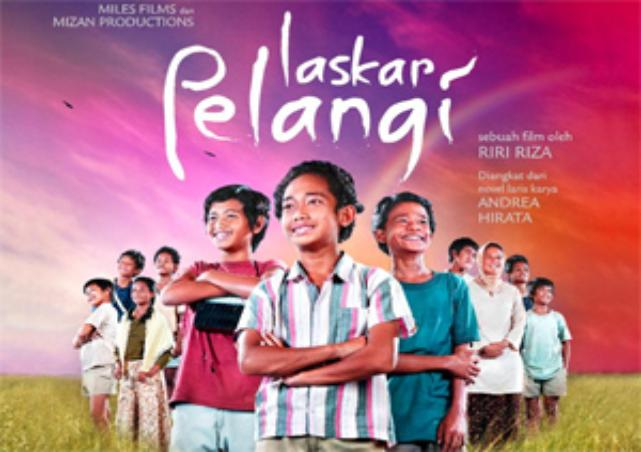 Laskar Pelangi, Film Pendidikan Terlaris di Indonesia