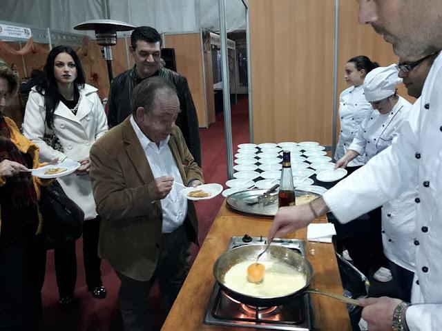 Τι δοκίμασε και εντυπωσιάστηκε ο Ηλίας Μαμαλάκης στο Άργος