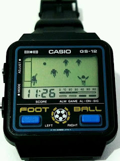 Casio GS-12 Foot Ball Watch