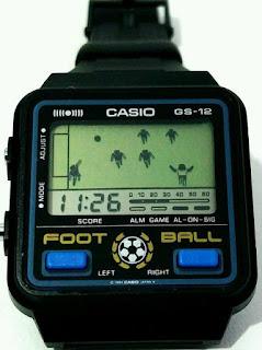 Casio GS-12 Foot Ball Watch