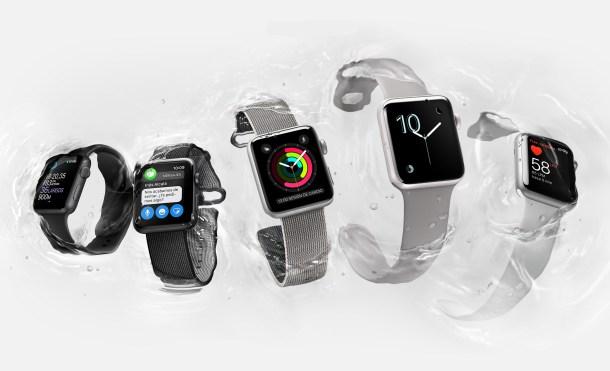 El Apple Watch Series 2 tiene GPS y es sumergible hasta 50 mts