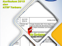 File Kisi Kisi UTS IPA SMP Semester 1/ Ganjil Kurikulum 2013 dan KTSP Terbaru