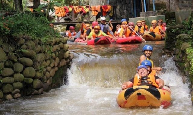 Tempat Rafting di Ciater yang Penuh Sensasi