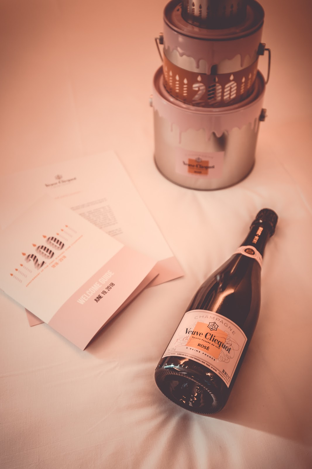 paris veuve clicquot rose 200 birthday party