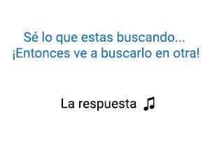 Becky G Maluma La Respuesta significado de la canción.