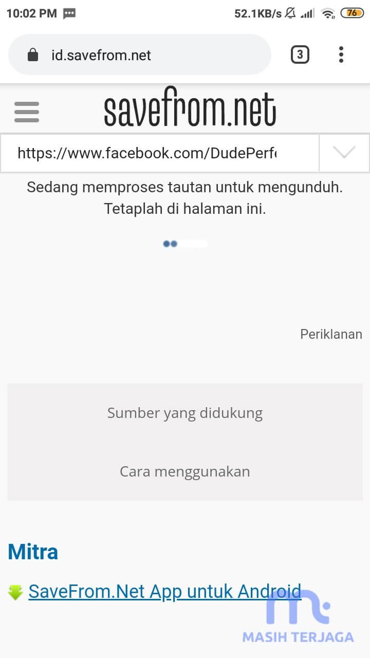 Cara Menyimpan Video Facebook Lite ke Komputer / Galeri HP Iphone Android Tanpa Aplikasi