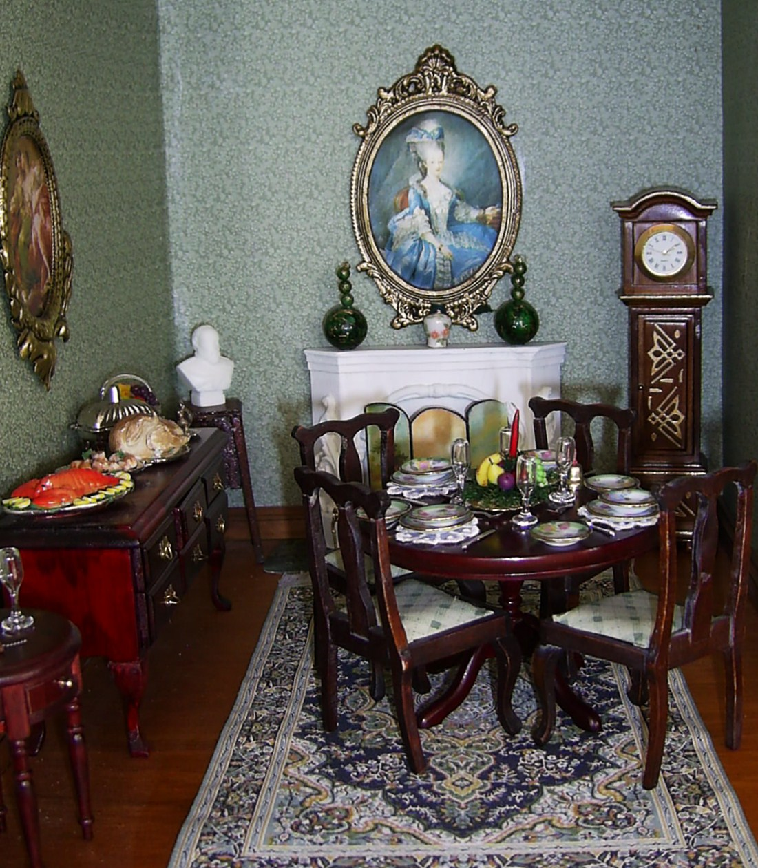 dolls houses and minis: Interior Decorating for an Edwardian Dolls ...