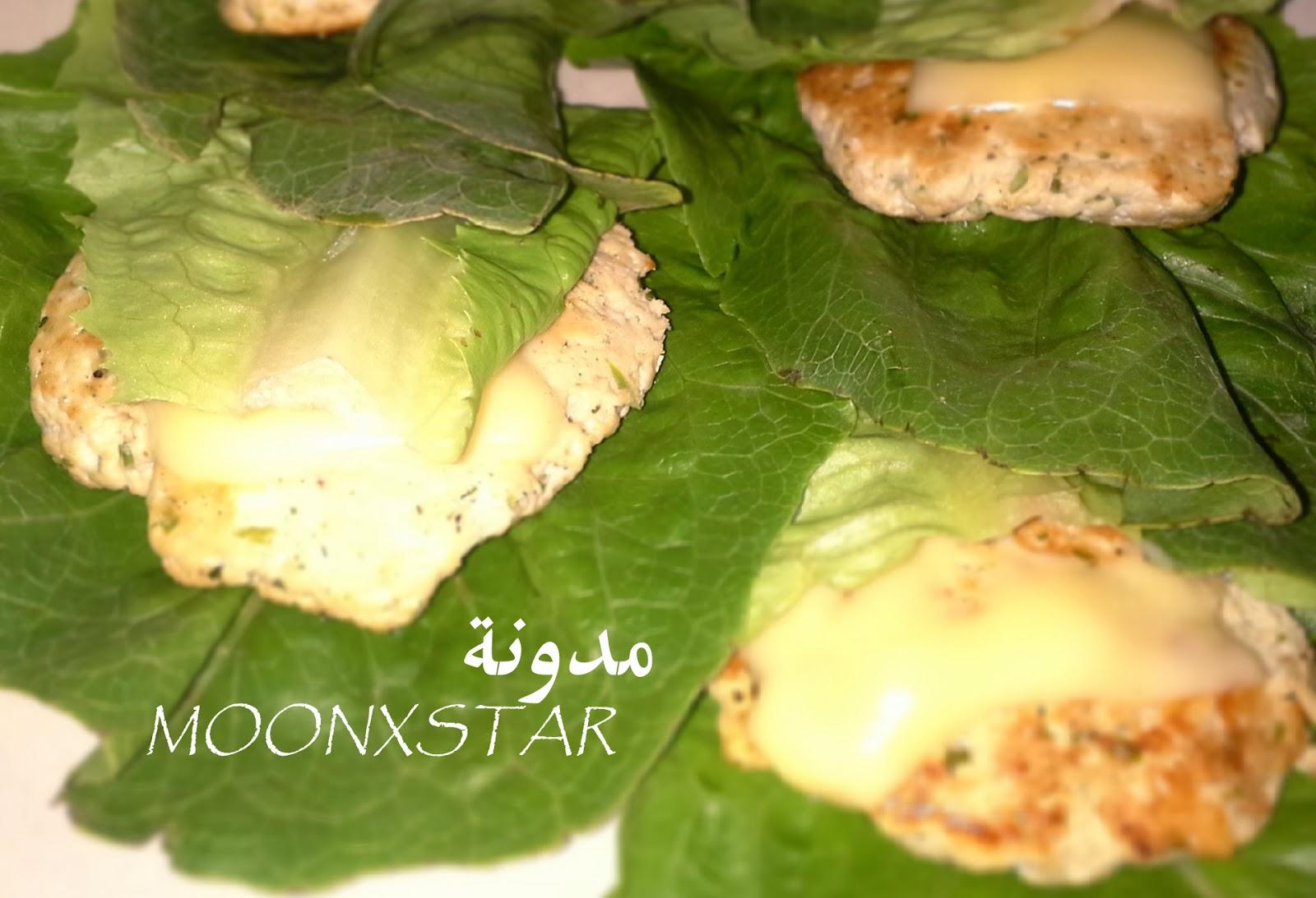 طريقة برقر الدجاج المنزلي - برقر دجاج - همبرقر همبرجر - دجاج - أكلات دايت