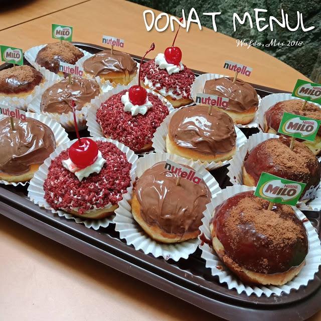 Resep Donat Menul Cemilan Masa Kini Ala Rumahan By @dapurwafda
