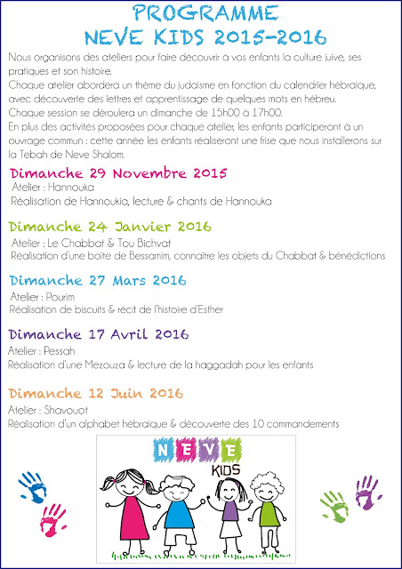 Programme Neve Kids 2015-2016