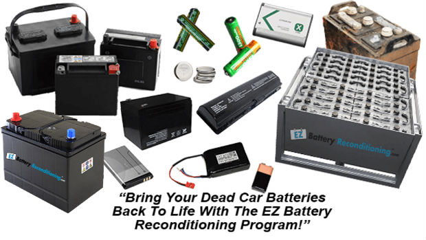 Bringing An Old Car Battery Back To Life