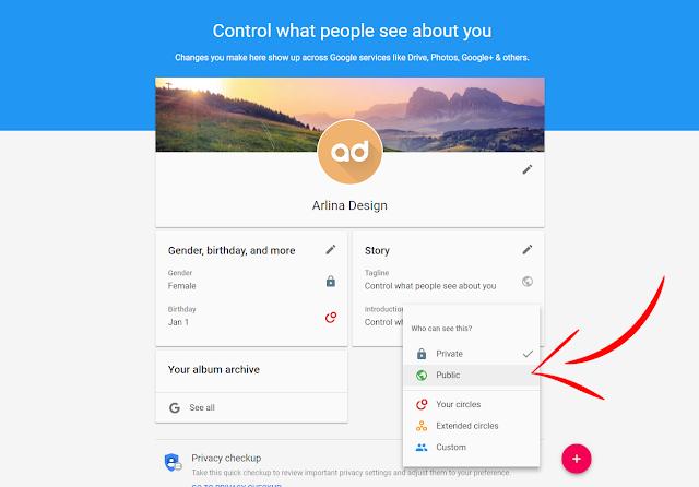 Cara Menampilkan Profil Google Plus di Bawah Postingan