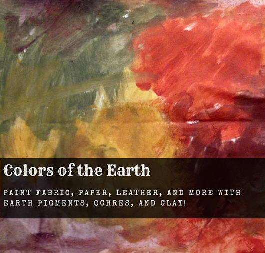 Join Me on August 1st for Colors of the Earth!