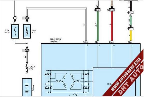 Free Automotive Manuals  Lexus Es350 2010 Wiring Diagram