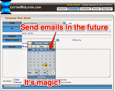 Send Emails in Future - set your own Date and Time ~ Everything About Hack & Soft