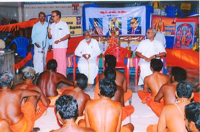 Day long camp for Village Temple Priests