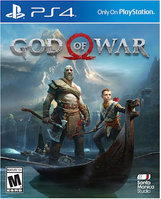 God of War Game Cover PS4 Standard