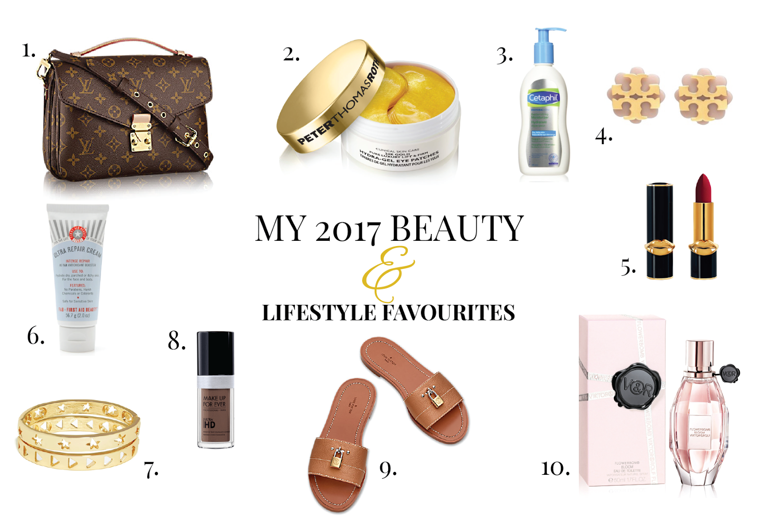My 2017 Beauty and Lifestyle Favourites